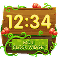 Emoji Clock Widget apk icon
