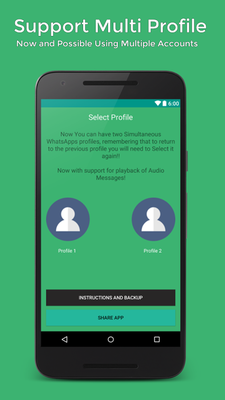Download CloneZap for WhatsApp 7 0 free APK Android