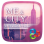 Me And City GO Launcher Theme v1.0