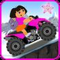 Little Dora Atv Hill Race - mountain climbing game 4.0 APK