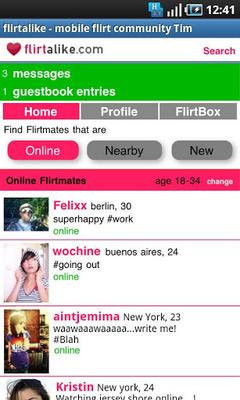 Flirtalike - FREE flirt dating screenshot apk 0