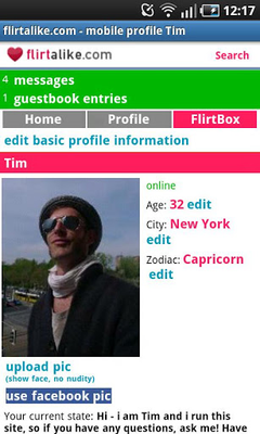 Flirtalike - FREE flirt dating screenshot apk 3