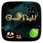 Ghost Night GO Keyboard Theme 4.15