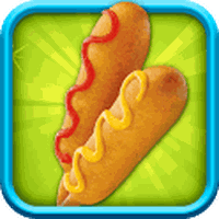 Apk Corn Dogs Maker - Cooking game