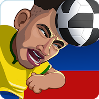 Biểu tượng apk Head Soccer Russia Cup 2018: World Football League