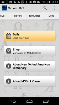 New Oxford American Dictionary Android - Free Download New Oxford