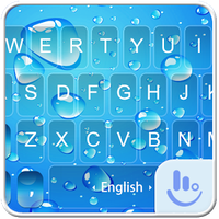 Blue Water Drop Keyboard Theme icon