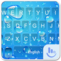 Blue Water Drop Keyboard Theme 1