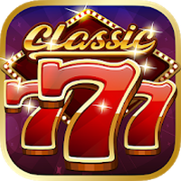 Classic 777 Slot Machine: Free Spins Vegas Casino Simgesi