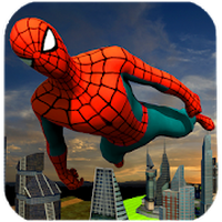 Ícone do apk Flying Spider Hero City Rescue