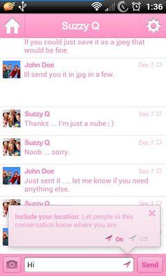 Image 3 of Pink for Facebook Messenger