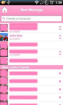 Image 5 of Pink for Facebook Messenger