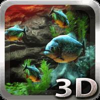 Piranha Aquarium 3D lwp icon