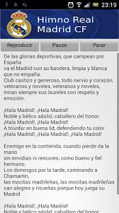 MADRID HALA TÉLÉCHARGER HYMNE