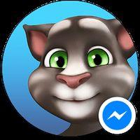 Ícone do apk Talking Tom para Messenger
