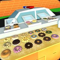 ไอคอนของ ตำรวจโดนัทร้านอาหาร PD