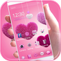 Fluffy love Theme Pink heart 1.1.7
