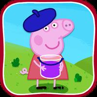 Peppa kids mini games apk icon