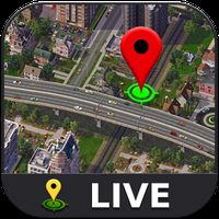 Ikona apk ulica na żywo - globalna mapa satelitarna Ziemi