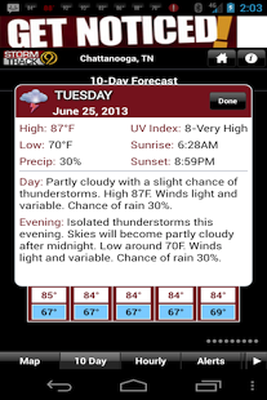 WTVC WX Android - Free Download WTVC WX App - WSI Corporation