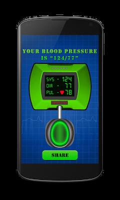 Finger Blutdruck App Kostenlos