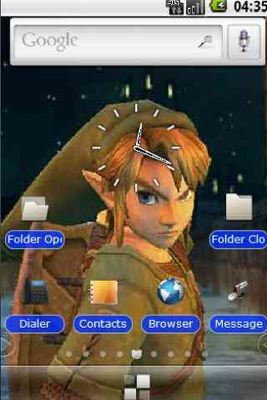 Zelda Deluxe Theme Android - Baixar Zelda Deluxe Theme grátis