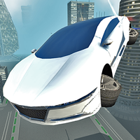 Futuristic Flying Car Driving APK Simgesi