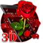3D valentine love rose theme 1.1.3