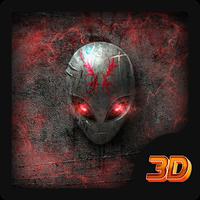 Alien Örümcek 3D Tema Simgesi