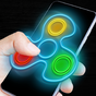 Fidget spinner néon lueur 1.2