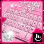 Tema de teclado gratuito Princesa Diamante Rosa 6.10.28