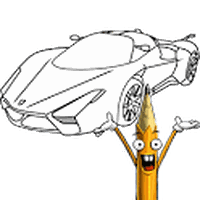 How to Draw: Super Cars apk icon