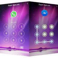 Ícone do apk AppLock Tema Aurora