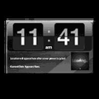Ikon Digital clock widget