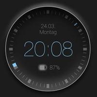 Smart clock zooper widget icon