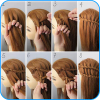 Hairstyle Tutorials for Girls layered hairstyles icon
