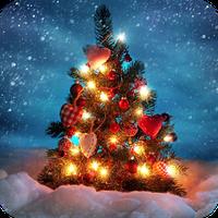 Ícone do Christmas Snow Live Wallpaper