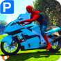 Superheroes Bike Parking: Super Stunt Racing Games 1.0 APK