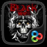 Black Night GO Launcher Theme Simgesi
