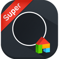 Dark Chic LINE Launcher theme apk icon