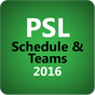 PSL Cricket Schedule & Teams 1.0 APK