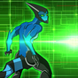 Ultimate Alien Bentenny XLR8 10x Transformations 2.2