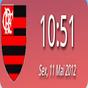 Digital Clock Flamengo  APK