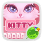 Pink Kitty GO Keyboard Theme 3.87