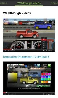 Baixar Drag Racing 4x4 Cheats Hack 1 0 APK Android grátis