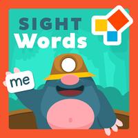 Ícone do Sight Words Palavras inglesas