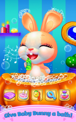 Baby Bunny - My Talking Pet Android - Free Download Baby