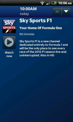 Sky Sports Mobile TV Android - Free Download Sky Sports