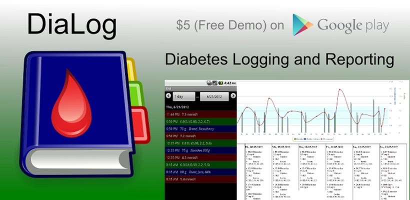 DiaLog: Diabetes Logbook Android - Free Download DiaLog: Diabetes