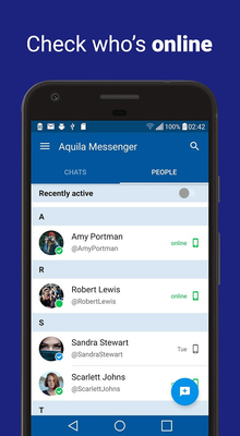 Aquila Messenger for Twitter Android - Free Download Aquila